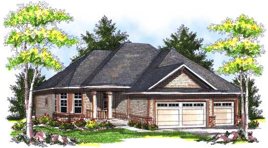 Traditional Style House Plans Plan: 7-741