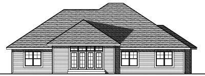 Rear Elevation Plan: 7-745
