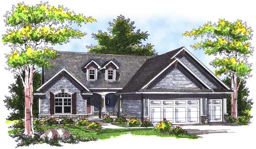 Traditional Style Floor Plans Plan: 7-746
