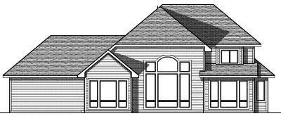 Rear Elevation Plan: 7-752