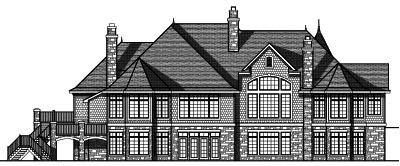Rear Elevations Plan:7-756