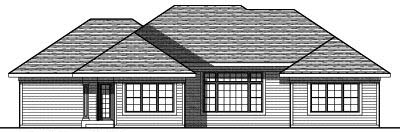 Rear Elevation Plan: 7-765