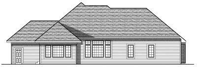 Rear Elevations Plan:7-766