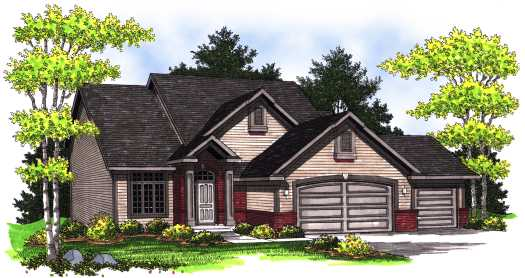 Traditional Style Floor Plans Plan: 7-767