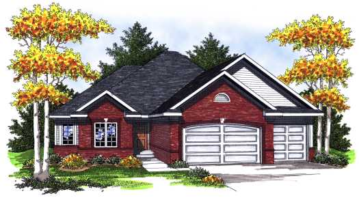 Traditional Style Floor Plans Plan: 7-768