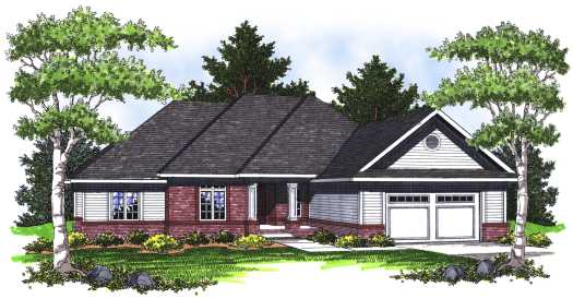 Traditional Style House Plans Plan: 7-769
