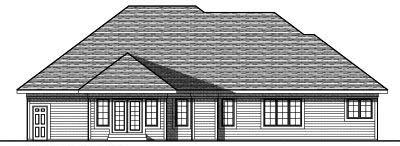 Rear Elevation Plan: 7-769