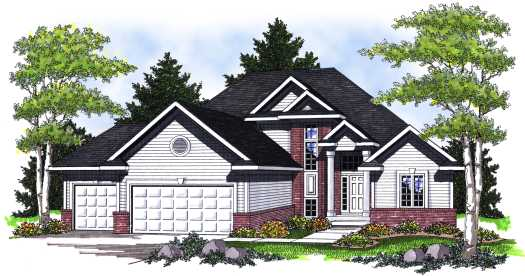 Traditional Style House Plans Plan: 7-771