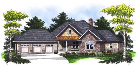 Traditional Style Floor Plans Plan: 7-780