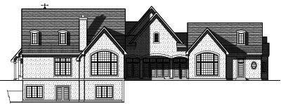 Rear Elevation Plan: 7-788