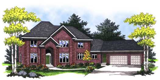 Traditional Style House Plans Plan: 7-789