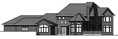 Rear Elevation Plan: 7-789