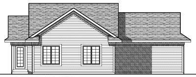 Rear Elevation Plan: 7-790