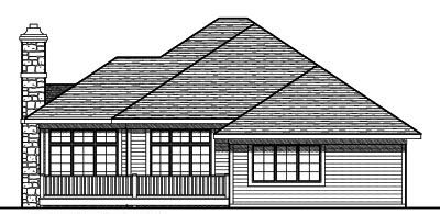 Rear Elevation Plan: 7-793