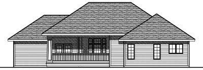 Rear Elevation Plan: 7-798