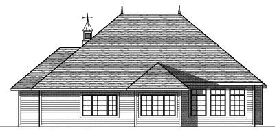 Rear Elevations Plan:7-800