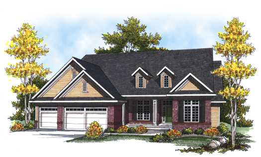 Traditional Style Floor Plans 7-804