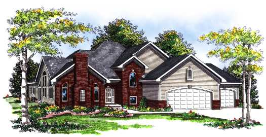 Traditional Style Floor Plans 7-810