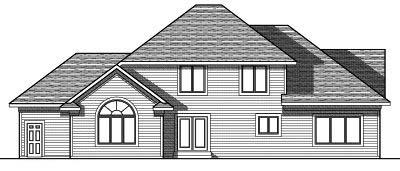 Rear Elevation Plan: 7-810