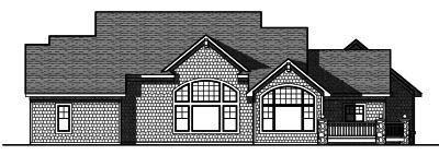 Rear Elevation Plan: 7-812