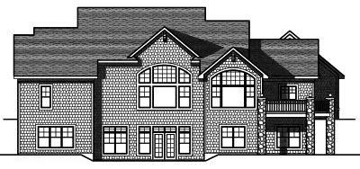 Rear Elevation Plan: 7-813