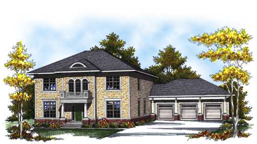 Southern Style Floor Plans Plan: 7-816