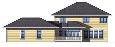 Rear Elevation Plan: 7-816