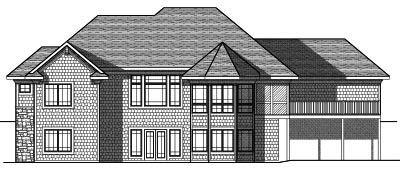 Rear Elevation Plan: 7-819