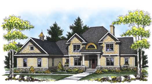 Southern Style House Plans Plan: 7-820