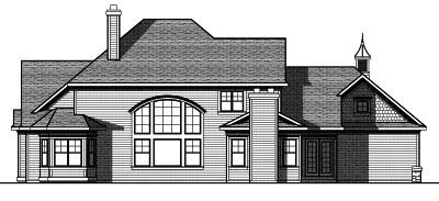 Rear Elevation Plan: 7-820