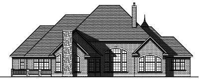 Rear Elevations Plan:7-824