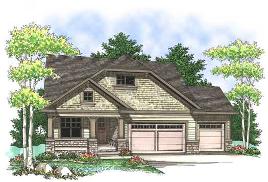 Craftsman Style House Plans Plan: 7-828