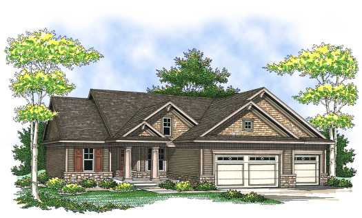 Traditional Style Floor Plans Plan: 7-830