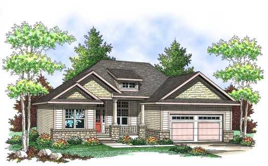 Craftsman Style Floor Plans Plan: 7-832