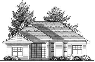 Rear Elevation Plan: 7-832