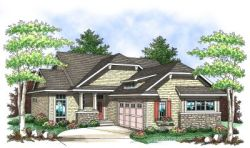 Bungalow Style Floor Plans Plan: 7-833
