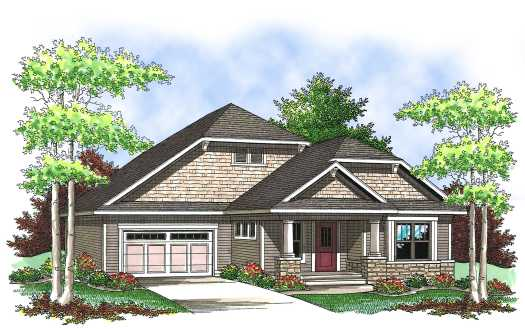 Bungalow Style House Plans Plan: 7-834