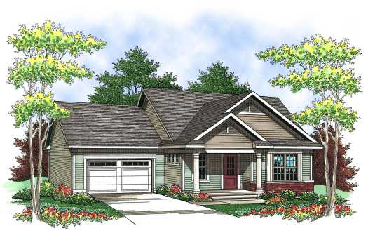 Traditional Style House Plans Plan: 7-835