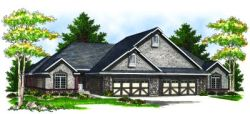 Country Style Floor Plans Plan: 7-858