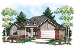 Country Style House Plans Plan: 7-895