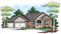 Ranch Style House Plans Plan: 7-913