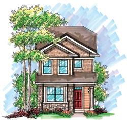 Cottage Style Floor Plans Plan: 7-942