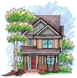 Craftsman Style House Plans Plan: 7-943