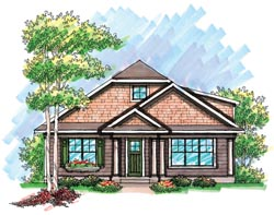 Bungalow Style House Plans Plan: 7-945