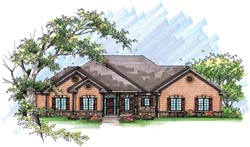 Traditional Style Floor Plans 7-957