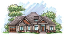 Craftsman Style House Plans 7-964