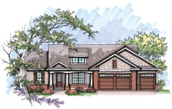Bungalow Style Floor Plans Plan: 7-990