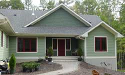 Traditional Style Home Design Plan: 70-115