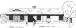 Ranch Style Floor Plans Plan: 71-122
