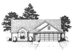 Traditional Style House Plans Plan: 71-136